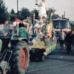 Herbstfest Umzug 1967 mit Weinkönigin Anita Ney