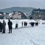 Mosel zugefroren 1963