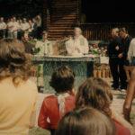 Waldfest 1970 in der Ank mit Pfarrer Höfer